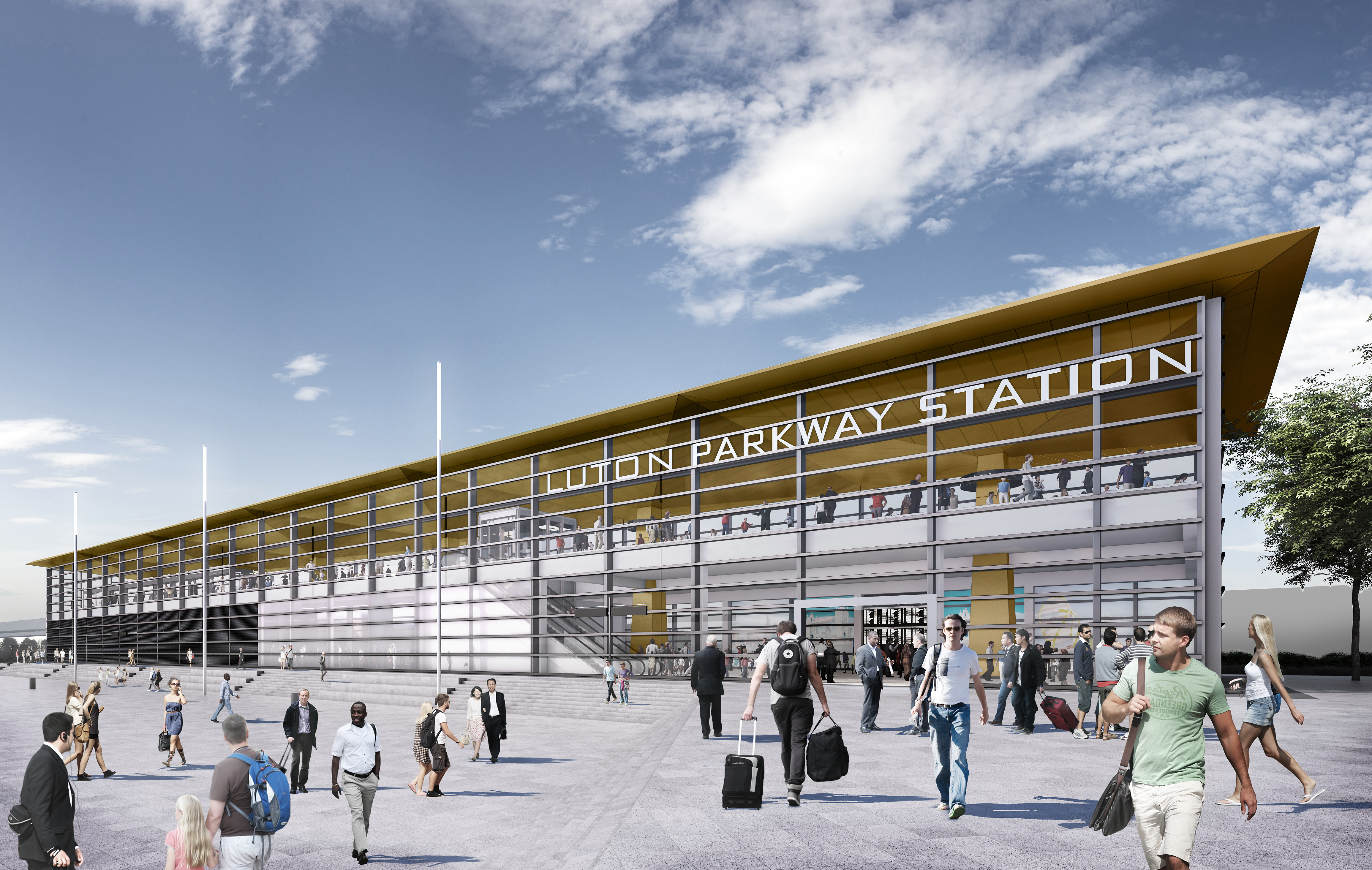 Luton Airport Parkway Station - Revamp
