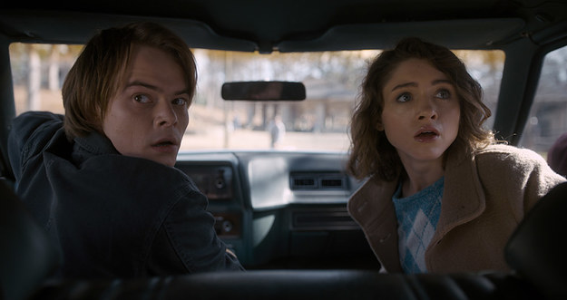 Stranger Things Season Two Jonathan And Nancy