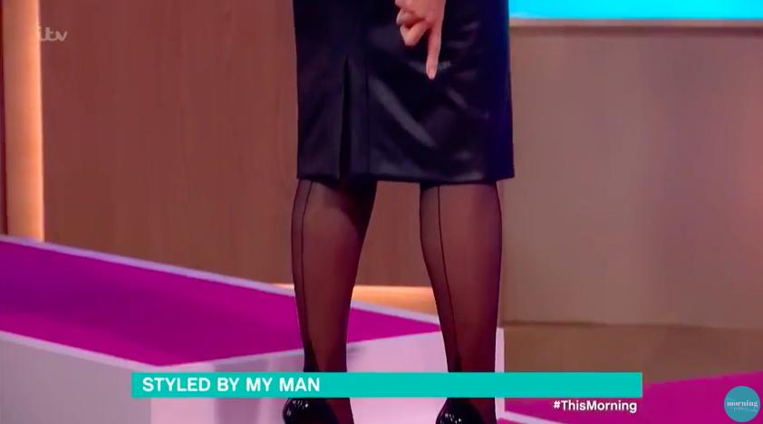 WATCH: Ruth Langsford Let Eamon Holmes Dress Her A