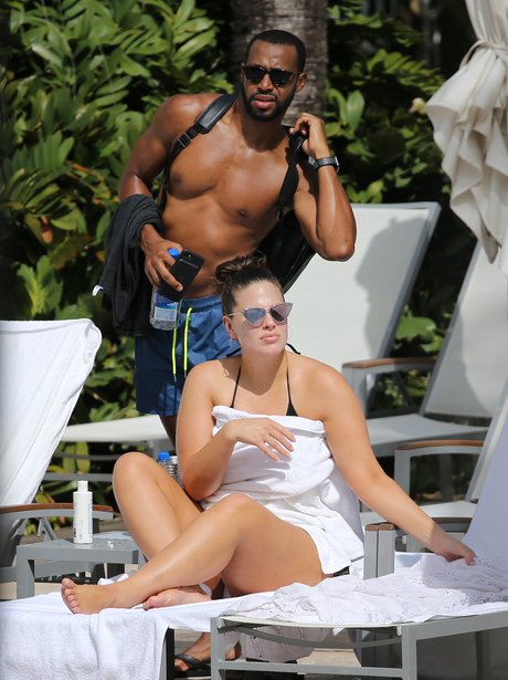 ashley graham takes a break abroad with her husband justin