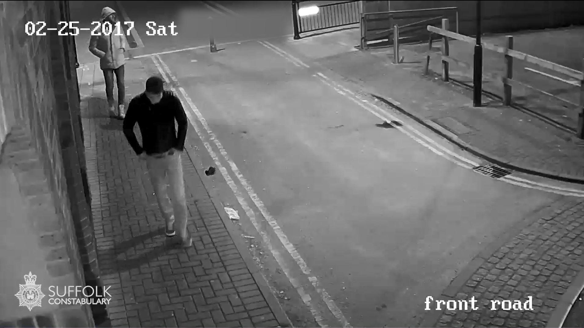 Ipswich Rape CCTV