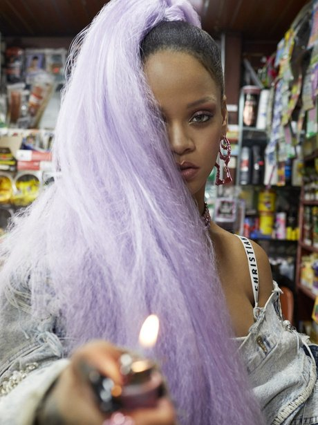 Rihanna Goes Punk Glam For Paper Magazine