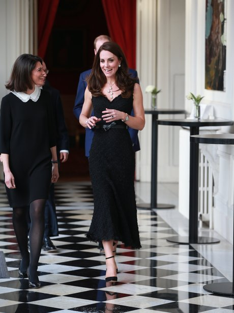 Kate Middleton Makes First Outfit Change For The D