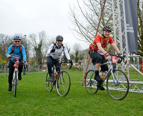 BHF bike ride