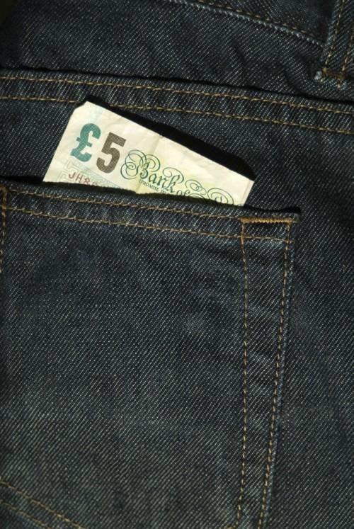 Fiver back pocket