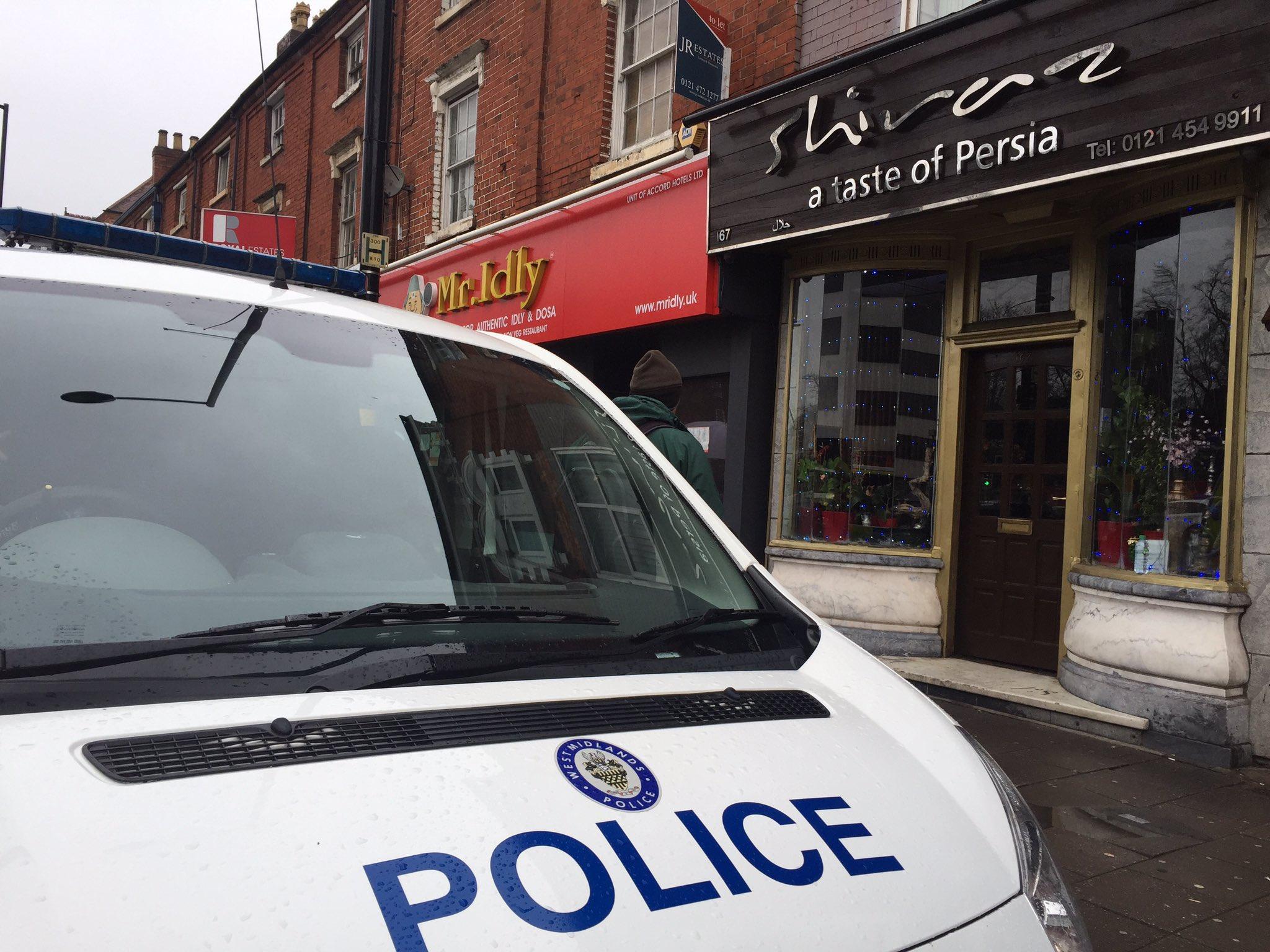 Westminster Attack - Birmingham Raid
