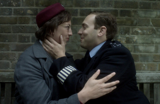 Miranda and PC Noakes Call the Midwife