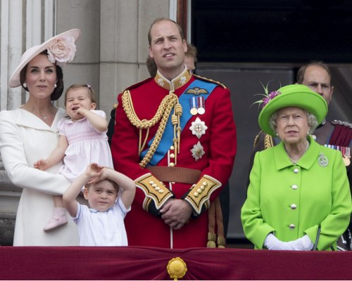 prince williams the queen