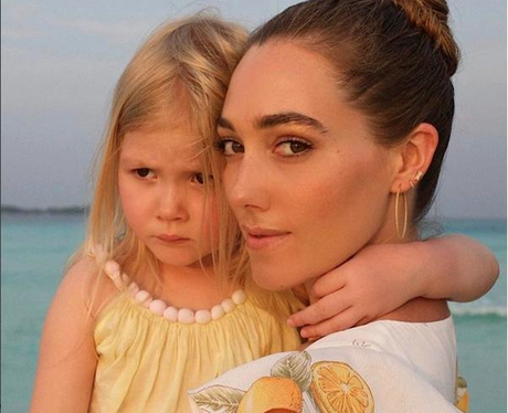 Jacqui Ritchie Shares Cute Holiday Snap With Daugh