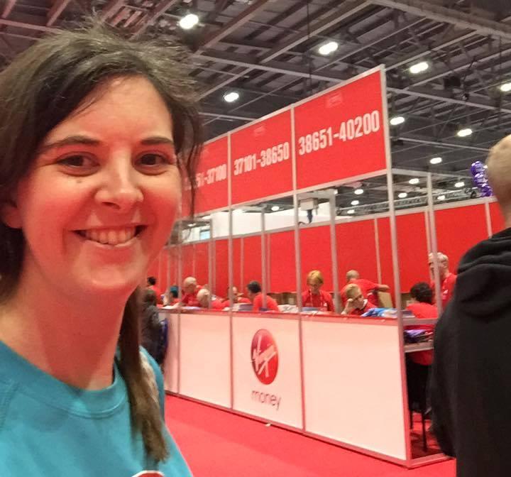 Bev Rimmer London Marathon