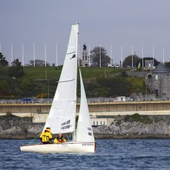 Training in Plymouth Sound
