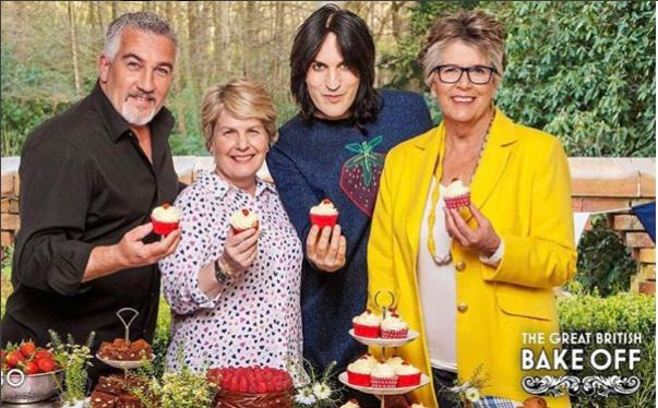 Paul Hollywood  The Great British Bake Off