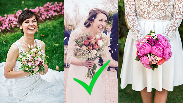 One Of These Bridal Bouquets Cost £12.30, We Bet You Can't