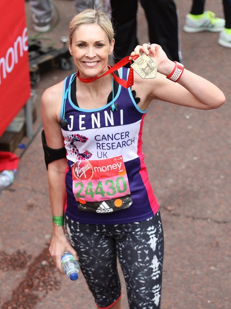Jenni Falconer London Marathon