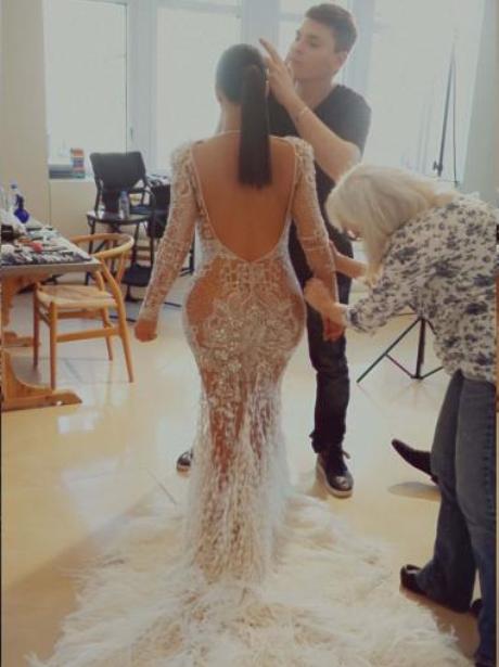 Kim Kardashian Shares Exclusive Behind-The-Scene P