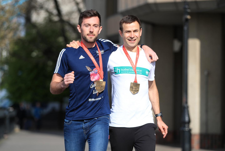 Runner Who Helped Struggling Stranger Over Finish