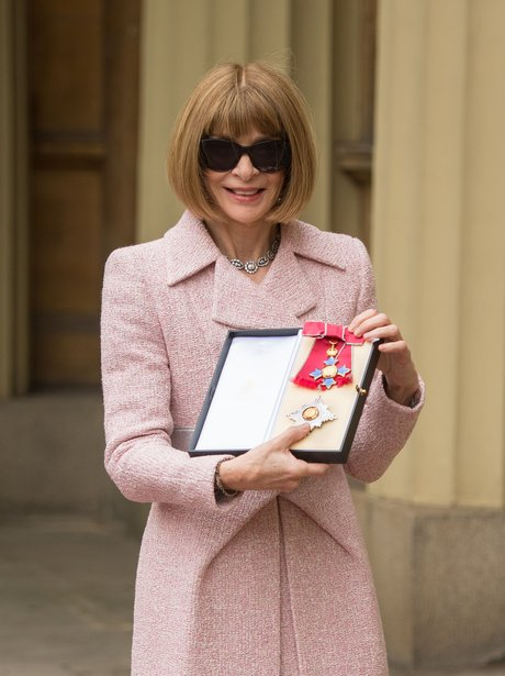 Anna Wintour Receives Her Honour From The Queen