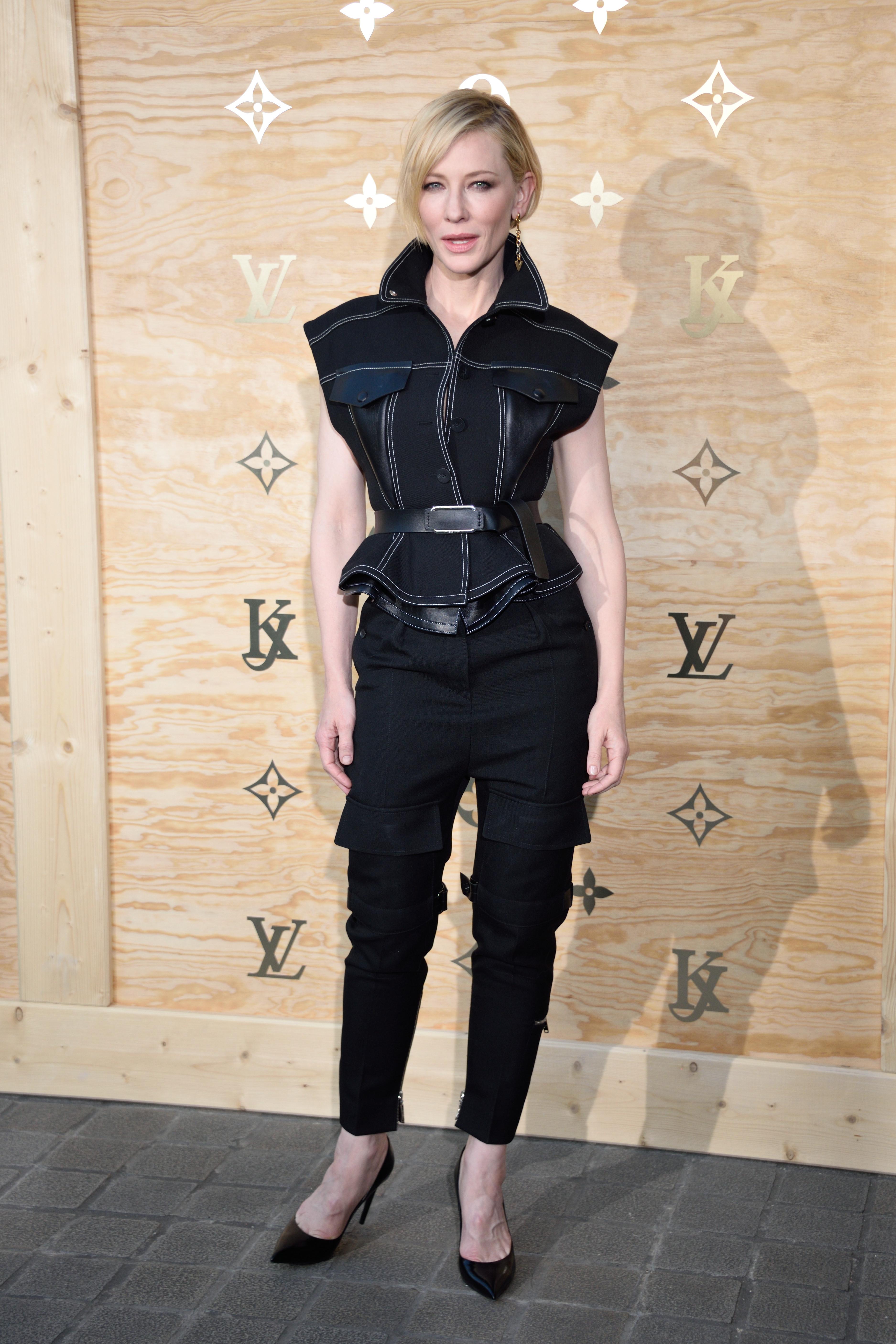 Cate Blanchett Louis Vuitton's Dinner for the Laun