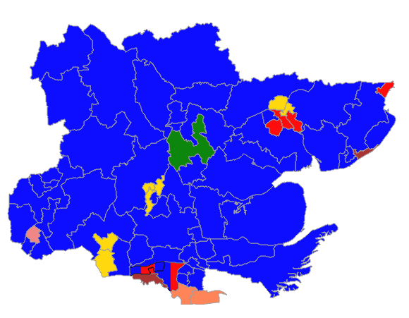 Essex County Council Elections Result