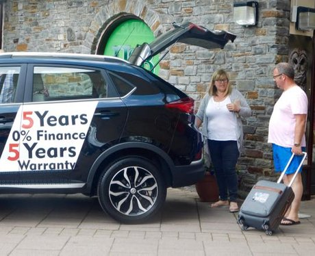 Nathaniel Cars around South Wales!