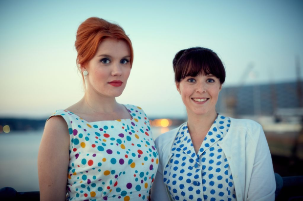Nurse Mount and Nurse Busby - Call The Midwife