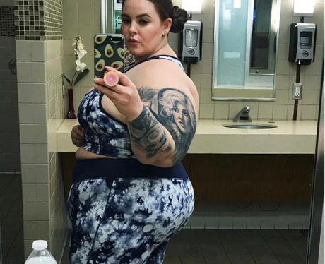 Tess Holiday Hits Back At Body Shamers With Gym Se