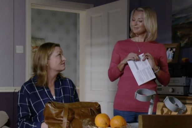 Kathy and Jane election Eastenders