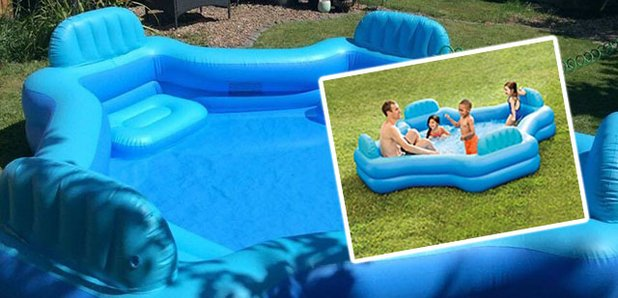 People are losing it over this incredible 30 paddling pool for Biggest paddling pool