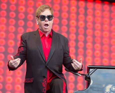 Elton John In Peterborough