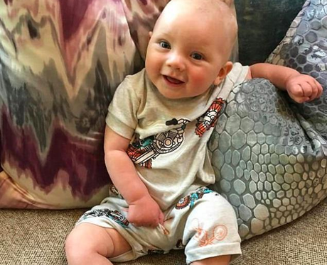 Pink shares an adorable snap of her five-month-old
