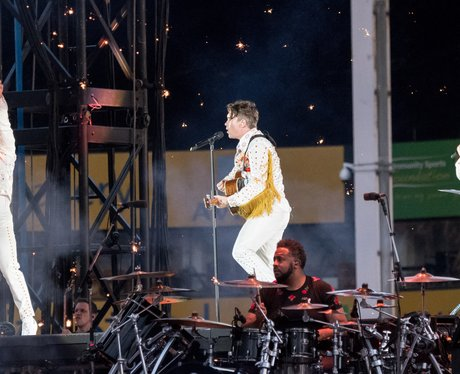 Take That at Carrow Road Norwich