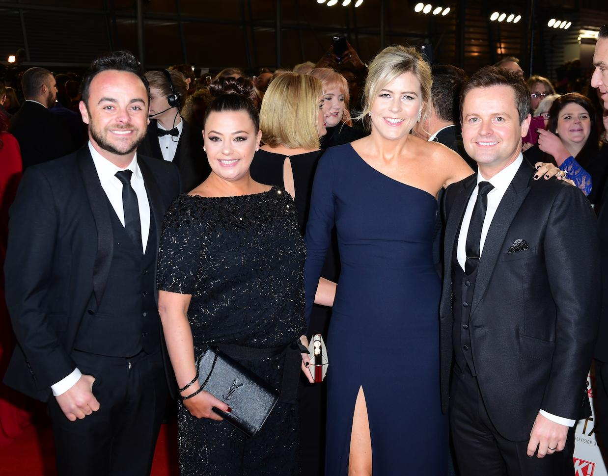 Ant McPartlin, Lisa Armstrong, Ali Astall and Decl