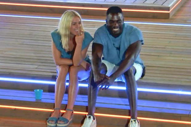 Gabby and Marcel Love Island