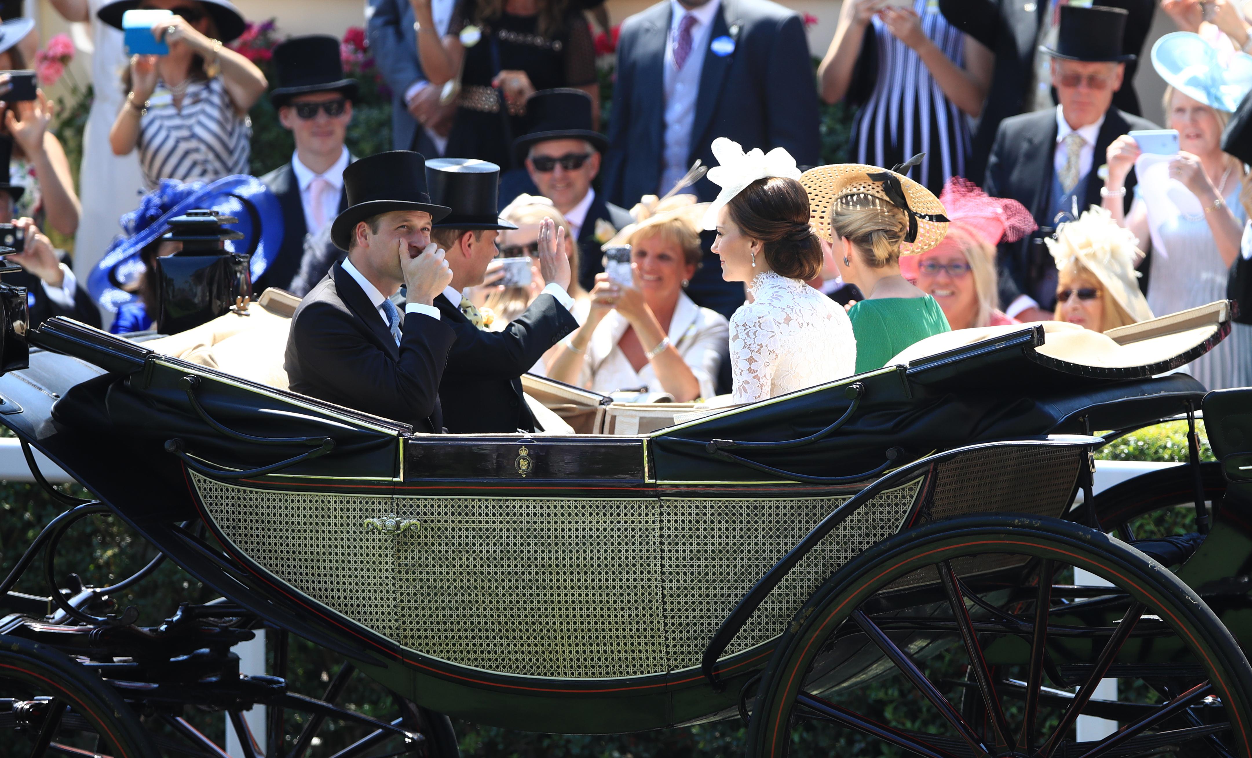 Kate Middleton Royal Ascot Carriage