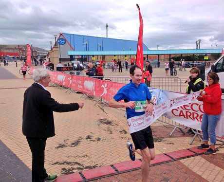 crossing the finishing line