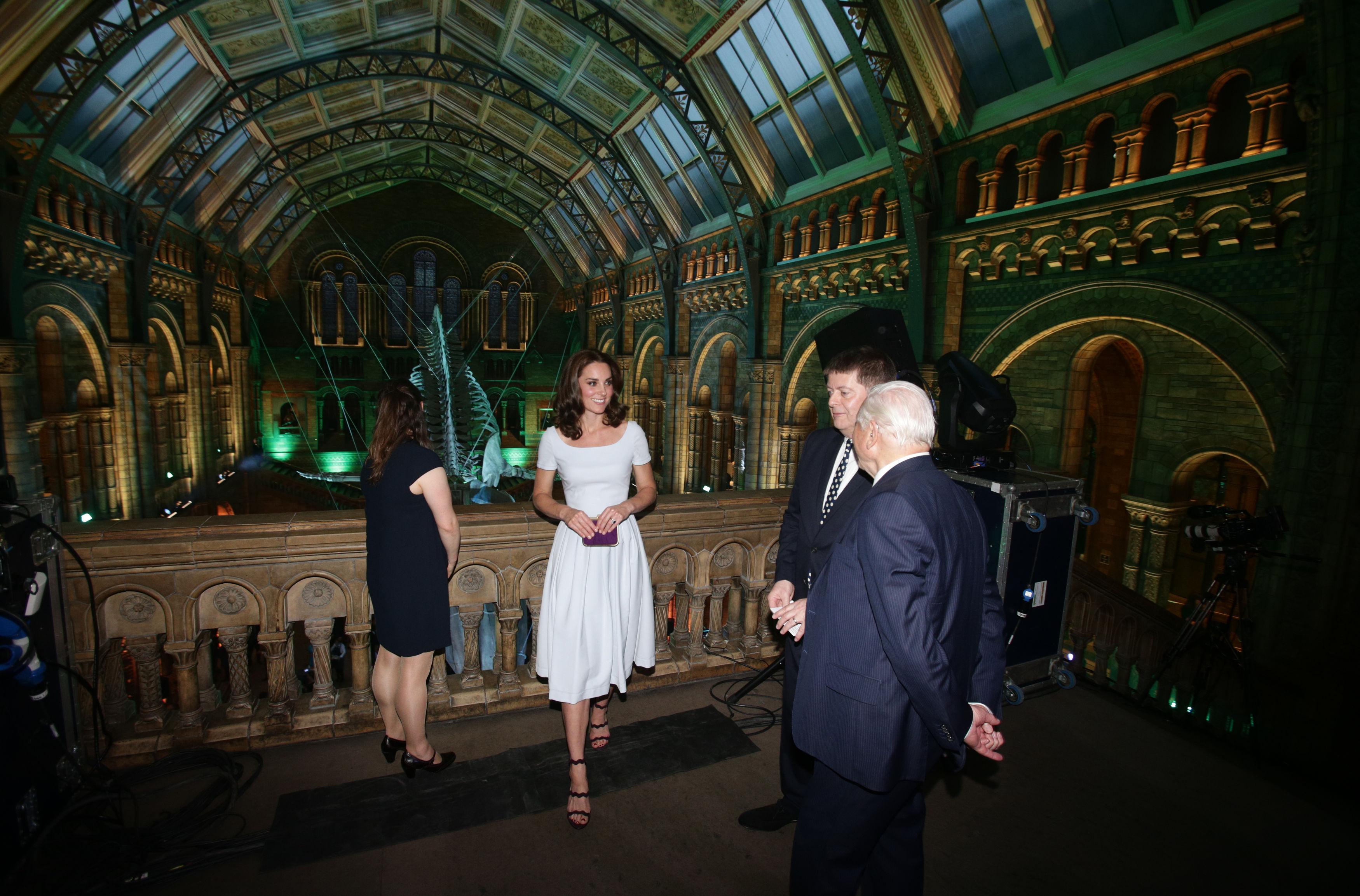 Duchess of Cambridge Natural History Museum Hope