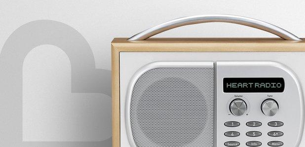 digital radio heart