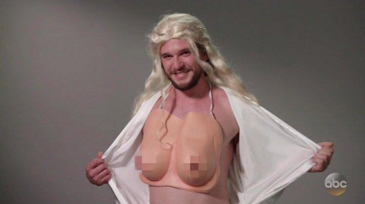 Kit Harrington Khaleesi