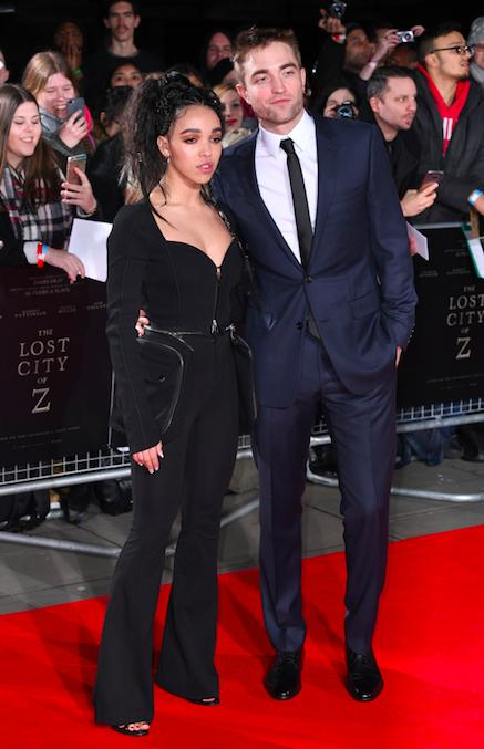 FKA Twigs and Robert Pattinson 2017