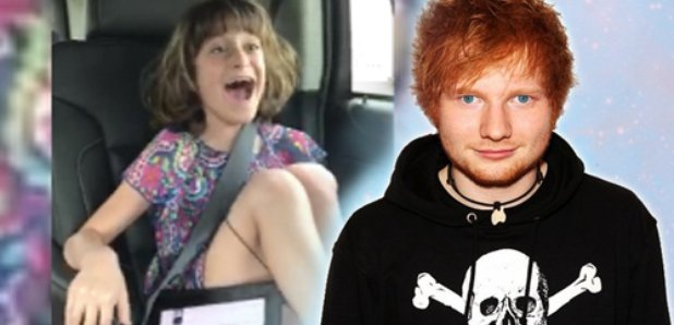 Watch parents surprise girl with ed sheeran meet and greet and her parents surprise girl with ed sheeran meet and greet and her reaction is priceless m4hsunfo Image collections