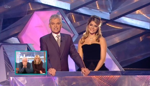 Holly and Phil Dancing on Ice Throwback This Morni