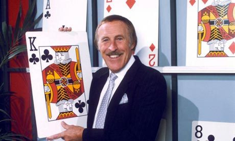 Bruce Forsyth hosting Play Your Cards Right