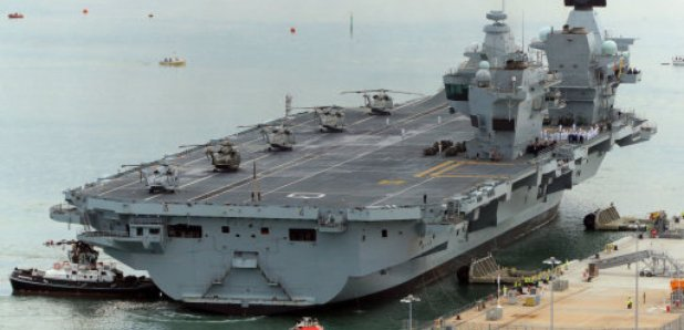 Captain Of HMS Queen Elizabeth Dismissed