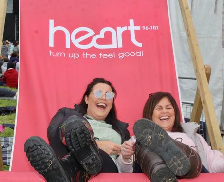 Turn up the feel good with the Heart Angels