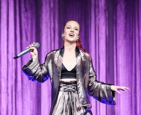Jess Glynne At Newmarket Racecourses