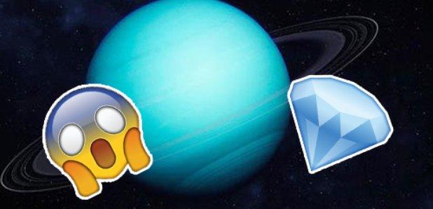Uranus Is Actually Full Of Massive Diamonds Heart