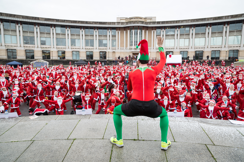 Santas on the Run, Santa, bristol, event