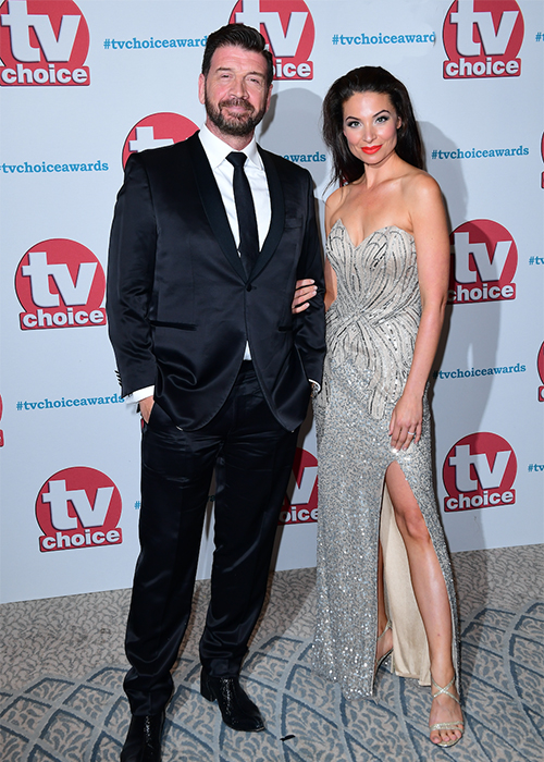 Nick Knowles and mystery woman