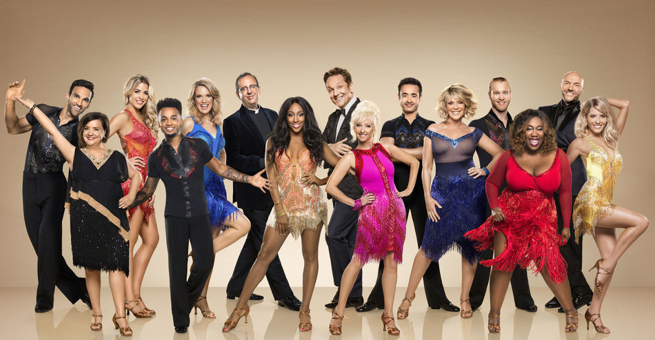 Strictly Stars Look Glamorous In First Official Tr