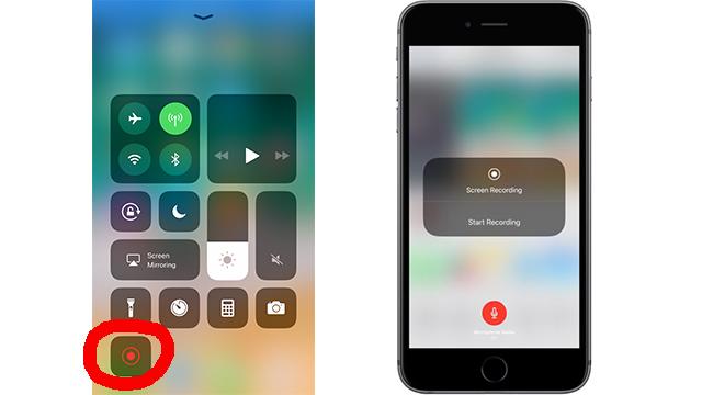 iOS11 Screen Recording